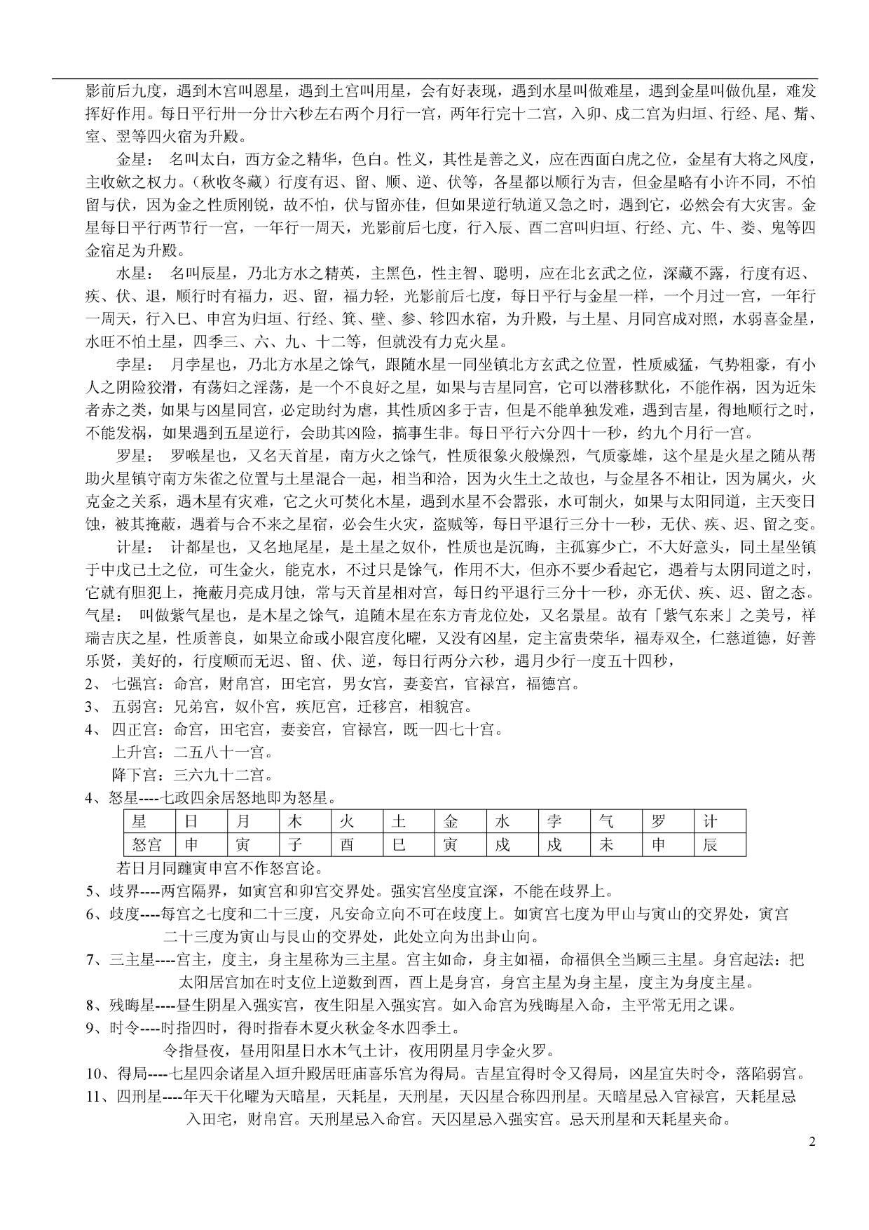 岳鼎竣七政四余天星择日高级班授课讲义_2