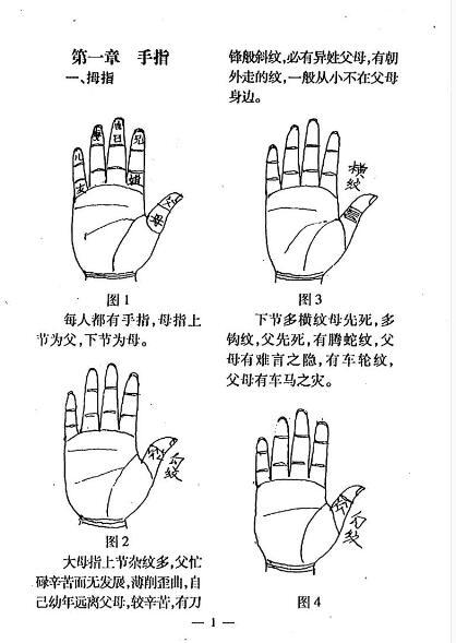《手相一千二百图》冲天居士李纯文 PDF电子版  下载插图(3)