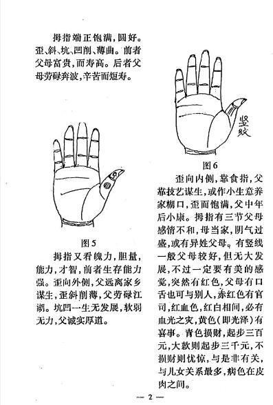 《手相一千二百图》冲天居士李纯文 PDF电子版  下载插图(2)