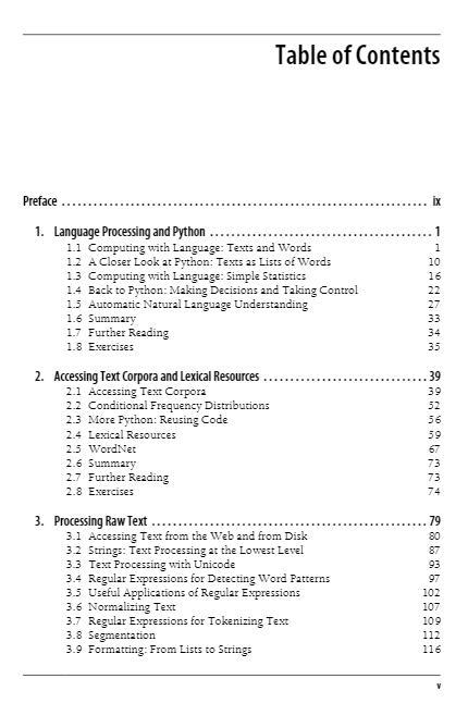 Natural Language Processing with Python PDF电子版 下载插图(3)