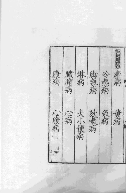 重刊巢氏诸病源候总论