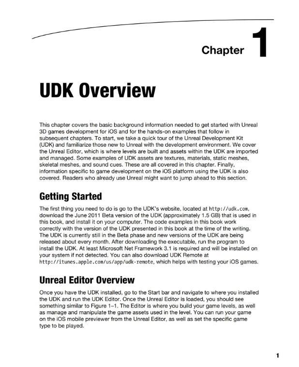 Beginning iOS 3D Unreal Games Development.