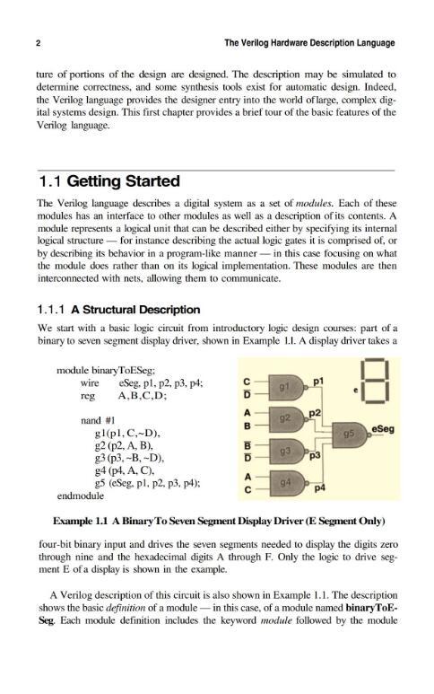 The Verilog Hardware Description Language 5E.